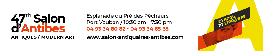 SALON ANTIQUAIRE ANTIBES TOP BANNER