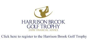 Harrison Brook Golf Trophy
