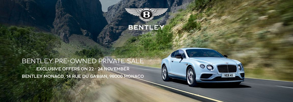 Bentley Pre-Owned Private Sale