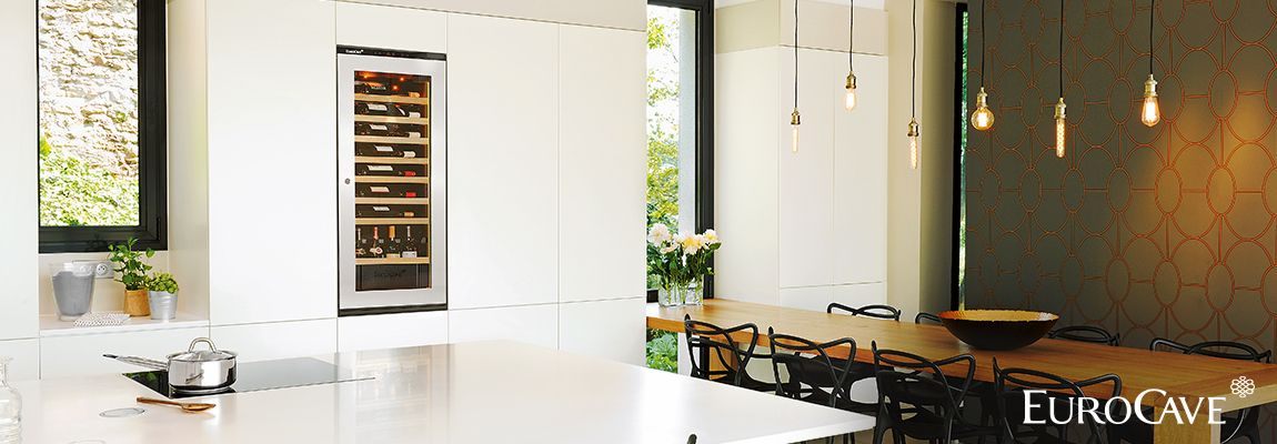 EuroCave integrated wine cabinets