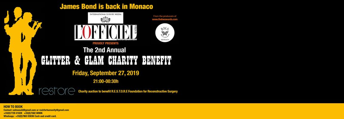 The 2nd Annual Glitter & Glam Charity Benefit