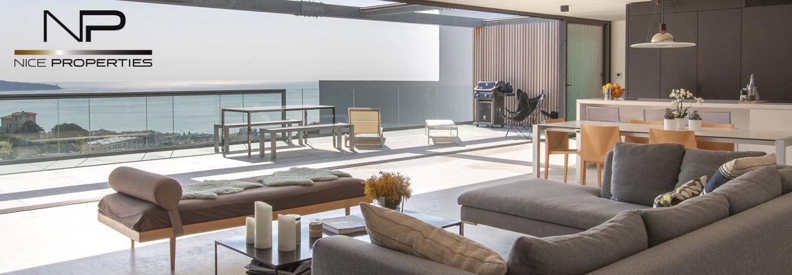 A breathtaking contemporary villa in Nice !