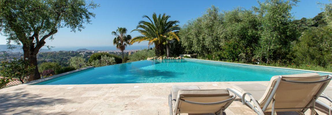 Nice Cimiez, superb modern villa in a private estate !