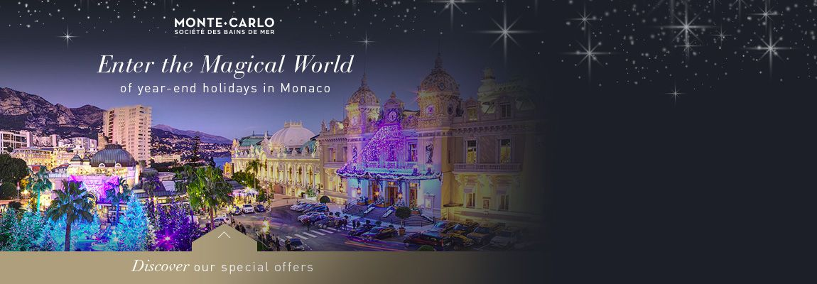 Experience the magic of the festive season in Monaco