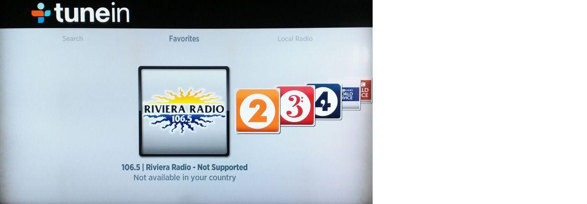 Riviera Radio on TuneIn UK