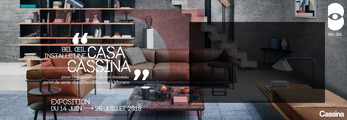 Bel Oeil - ex Loft Interior Designers - is now in Monaco !